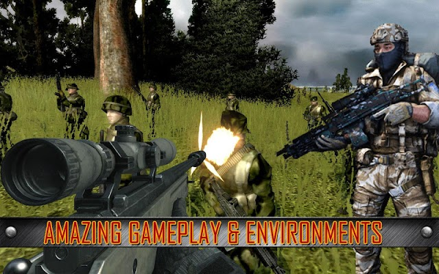 Army Commando Shooting Strike - screenshot