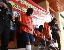 Aksi begal motor di Ngawi jawa Timur