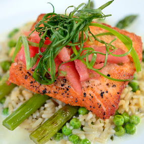 by Rany Haj - Food & Drink Plated Food ( salmon, Food & Beverage, meal, Eat & Drink )