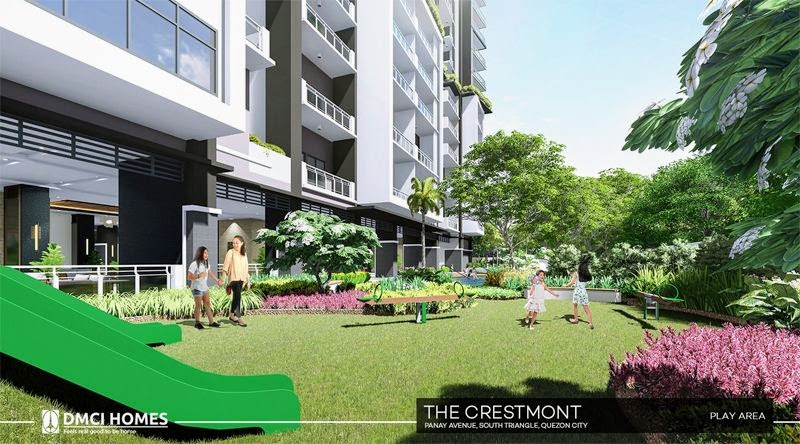 The Cresmont, Panay Avenue, Quezon City play area