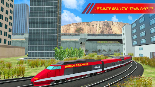 Indian Train Simulator 2019 Free Train games cheat screenshots 1