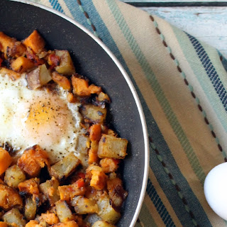 Savory Sweet Potato And Egg Breakfast Hash