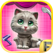 My Pet Kitty Cat Makeover Spa