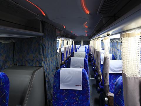 伊予鉄道「オレンジライナー」名古屋線 5409 車内