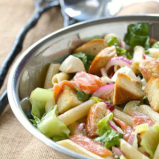 Bagels and Lox Pasta Salad.