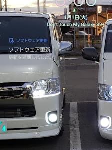 ハイエースバン  Super GL Ver.Ⅴ 50TH Anniversary Limitedのカスタム事例画像 Mr.Jinさんの2019年01月01日00:31の投稿