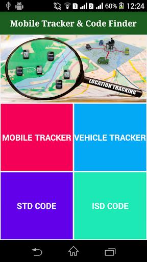 Mobile Tracker Code Finder