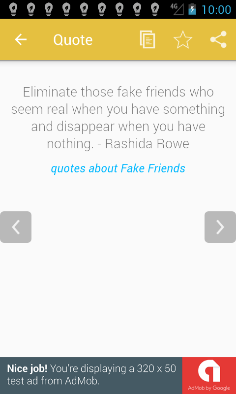 Quotes About Fake Friendship Fascinating Quotes About Fake Friends  Android Apps On Google Play