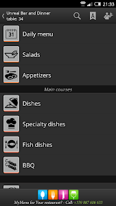 MyMenu screenshot 1