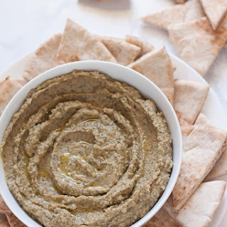 5-Minute Kalamata Olive Hummus.