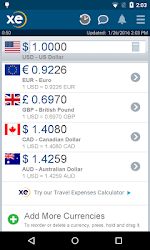 XE Currency Pro v4.6.1 APK 1