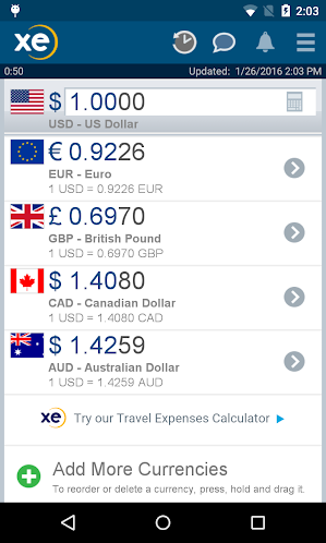 XE Currency Pro 4.4.2 build 95 APK