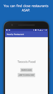 Restaurant Search- screenshot thumbnail