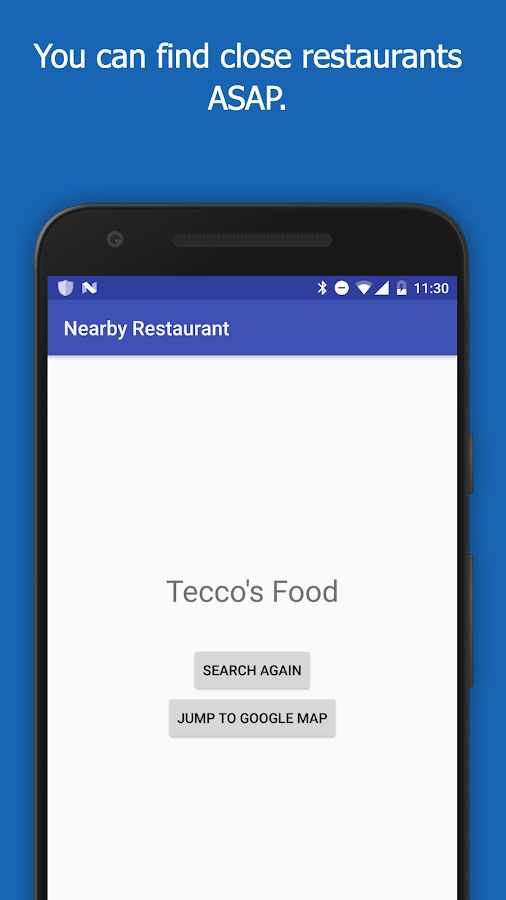 Restaurant Search- screenshot