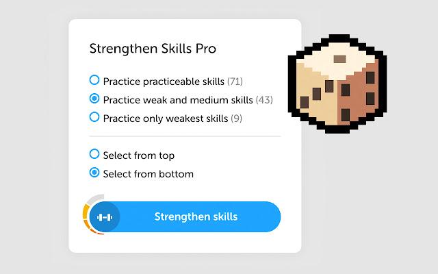 Duolingo Strengthen Skills Pro
