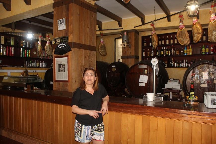 Bar Bodega Montenegro, ubicado en la Plaza Granero, que abrirá los próximos días.