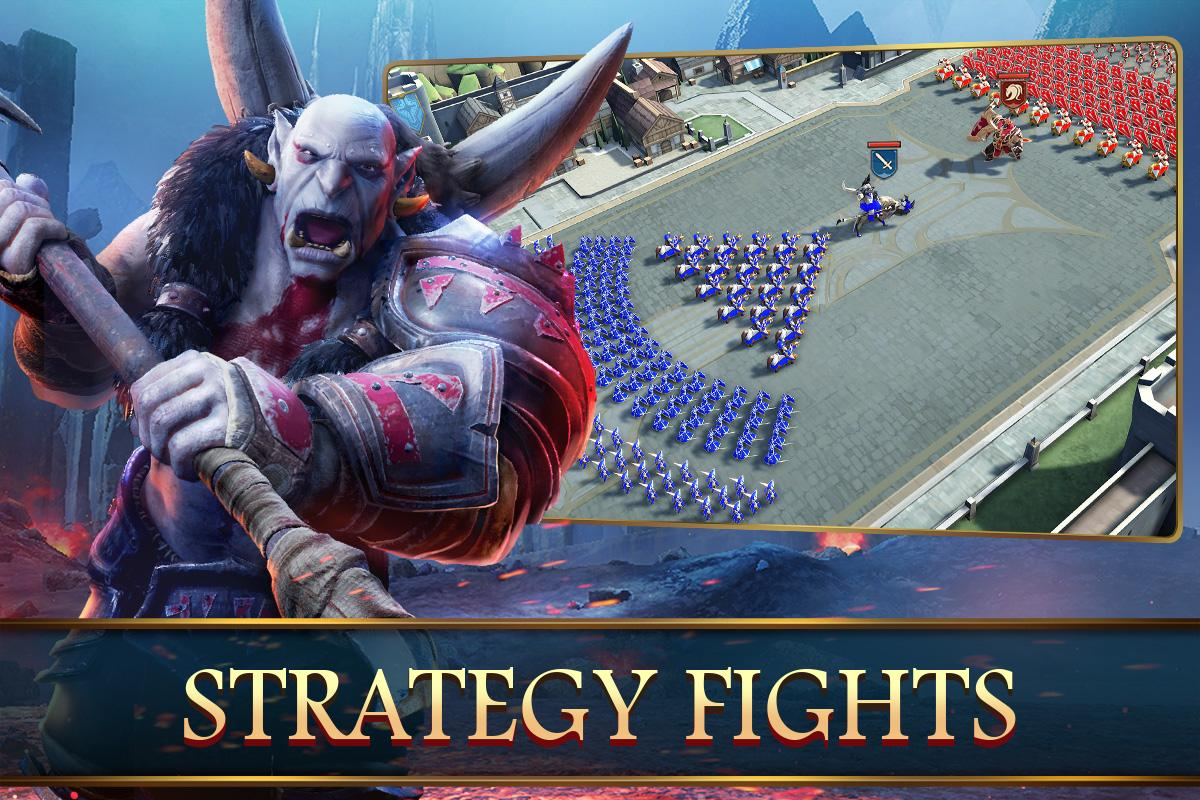 Mobile Royale MMORPG - Build a Strategy for Battle screenshots