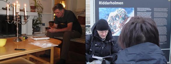 Photo: Wat baat kaars en bril als den uil niet lezen wil ; maar dit is wel een ander verhaal !