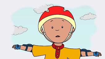 Caillou Roller Skates/Say Lettuce!/Caillou Tries to Whistle