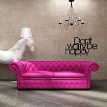 Photo: DekoSign napis dekoracyjny na ścianę DON'T WORRY BE HAPPY DWBH1-1 119 zł