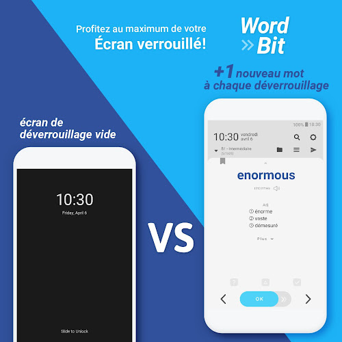 WordBit Anglais (mémorisation automatique ) Android App Screenshot