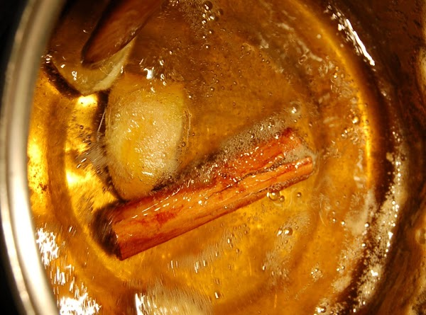Heat oven to 350. Mix all syrup ingredients. in a sauce pan and bring...