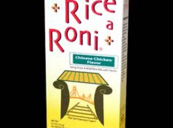 Homemade Rice A Roni Recipe