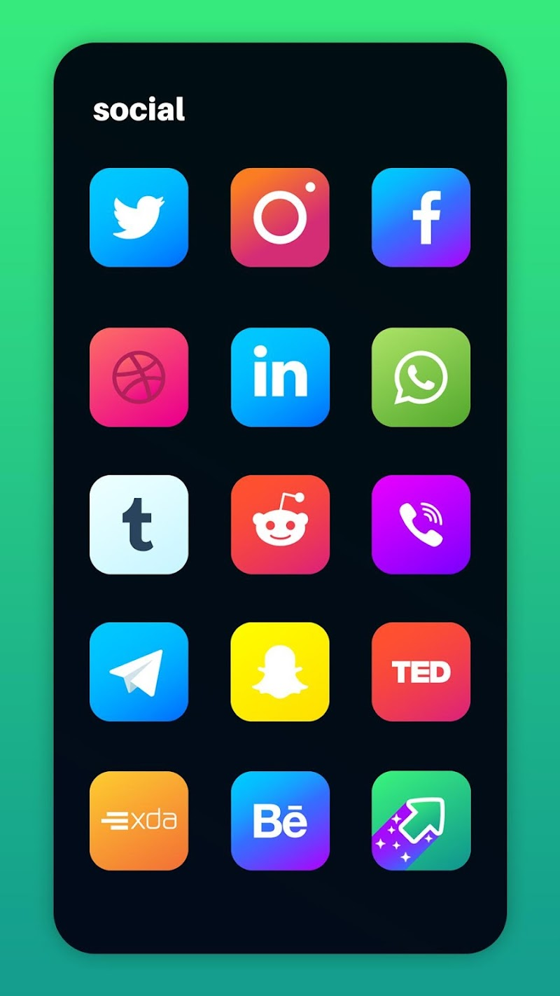 Nova Icon Pack - Rounded Square Icons Screenshot 3