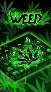 Rasta Weed Tastatur Screenshot