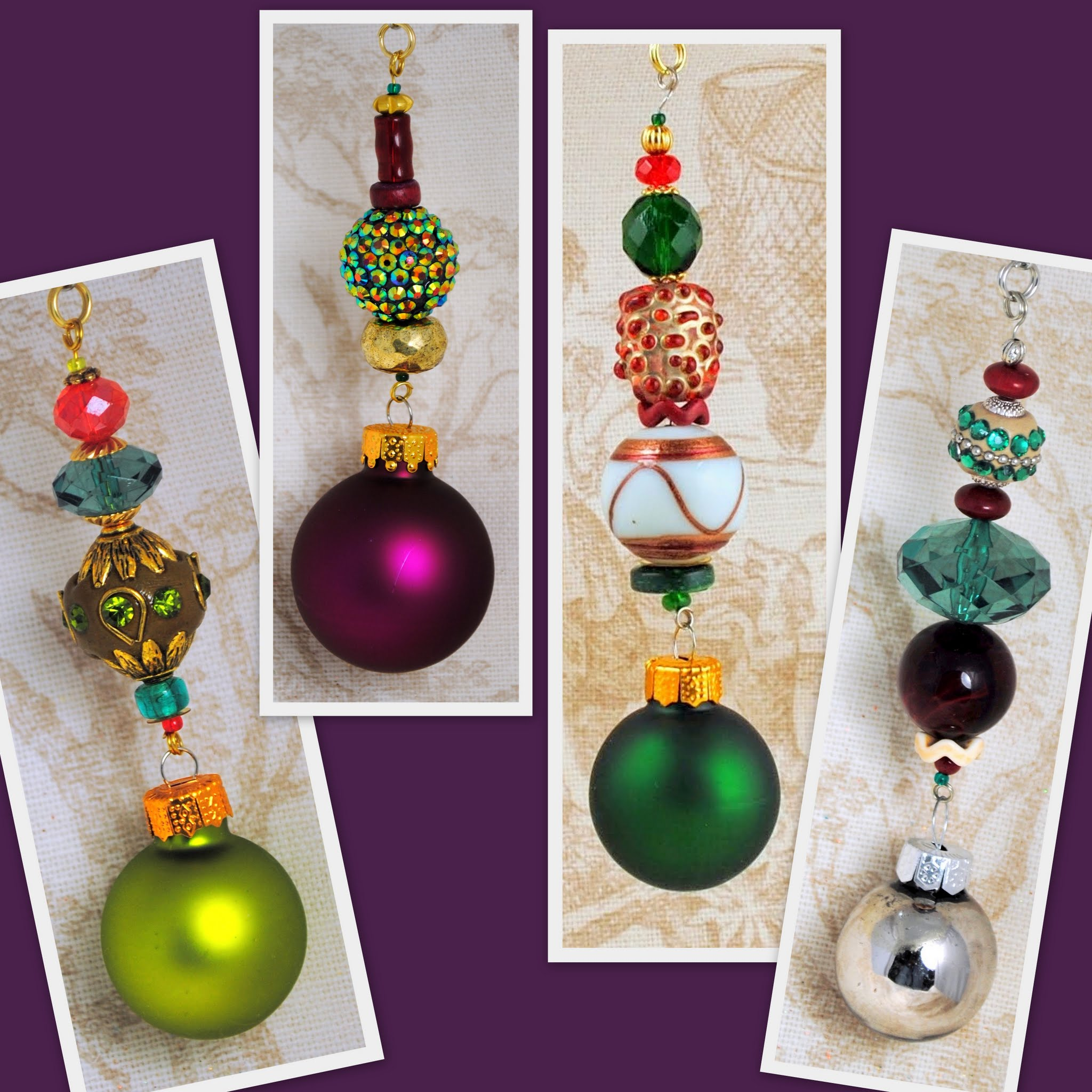 Christmas Twinkle Ornaments