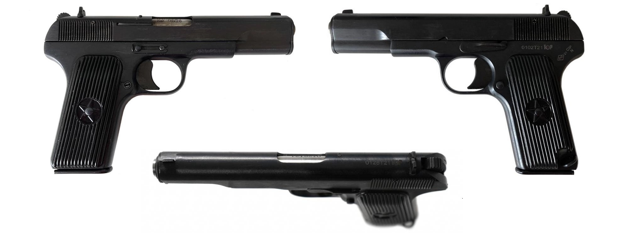 Травматические пистолеты ТТ Тень-28 и Grand Power T11