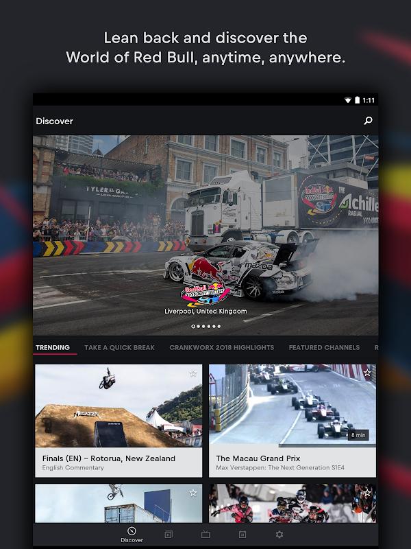 Red Bull TV: Live Sports, Music & Entertainment screenshots