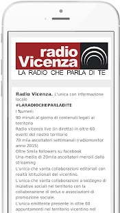 Radio Vicenza- screenshot thumbnail