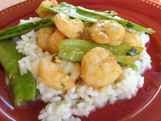 Orange & Lemongrass Shrimp Stir-fry Recipe