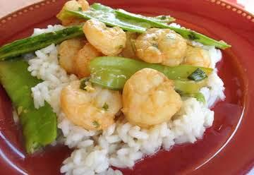 Orange & Lemongrass Shrimp Stir-Fry