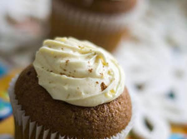 Pumpkin Spice Cupcake W/ Cinnamon Cream Cheese Recipe