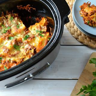 4-Ingredient Meaty Lasagna Recipe