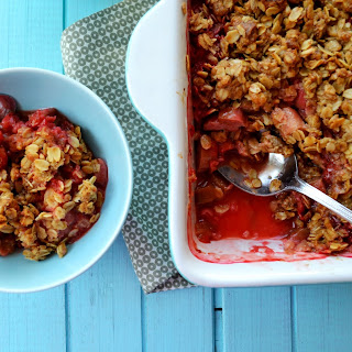 Rhubarb Crumble With Oats Recipes