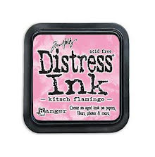 Tim Holtz Distress Ink Pad - Kitsch Flamingo
