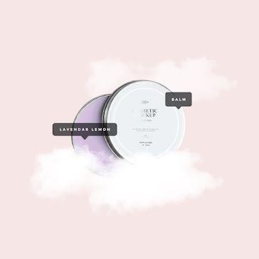 Lavender Lemon Balm - Instagram Post template