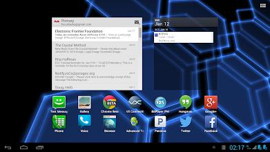 Photo: LapDock Webtop mode