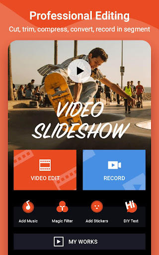 Video Maker Editor & MV Video Master - VidArt android2mod screenshots 1
