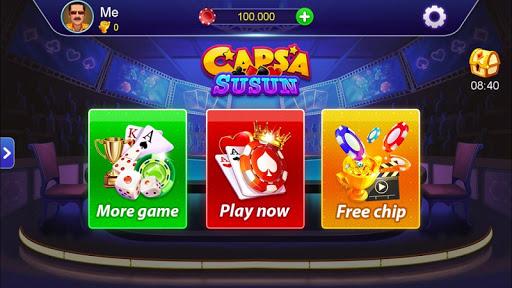 Capsa Susun, Chinese poker - Free forever 1.0 screenshots 1