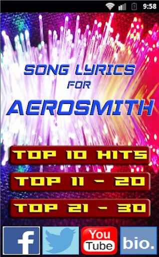 Songs 2015 for AEROSMITH