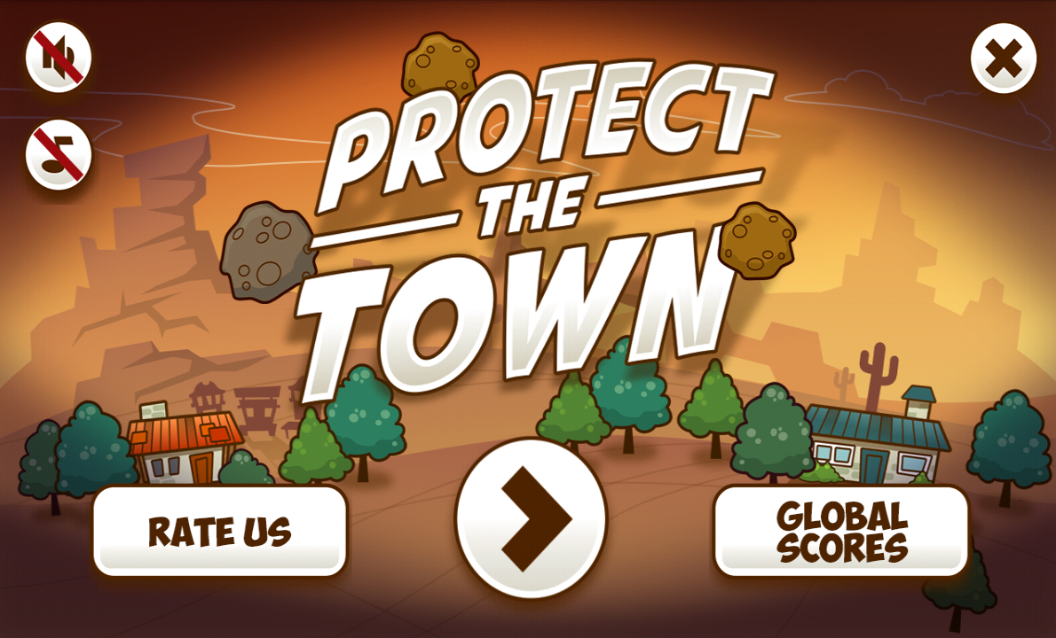 Protect The Town - Armageddon- screenshot