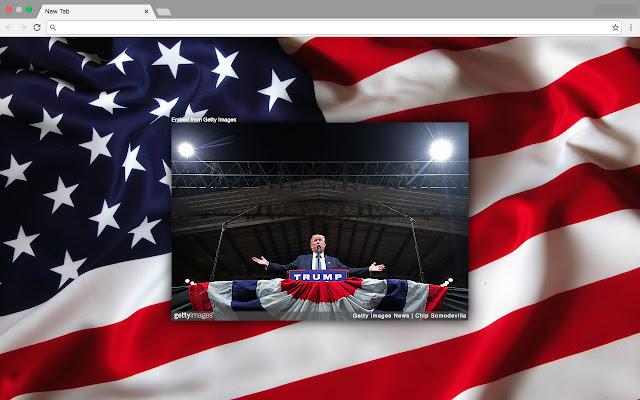 Trump New Tab Page