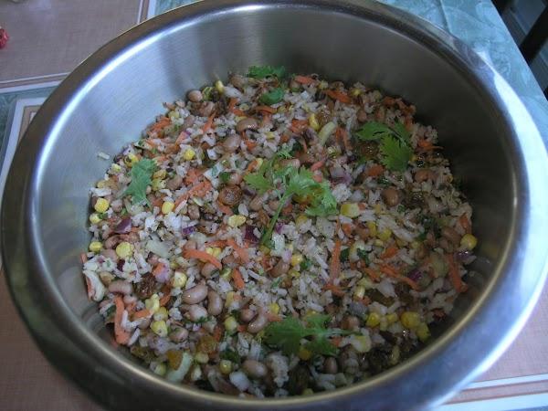 Black-eyed Pea & Rice Salad Recipe