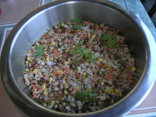 Black-eyed Pea & Rice Salad Recipe