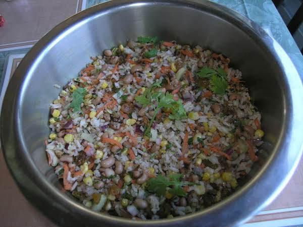 Black-eyed Pea & Rice Salad