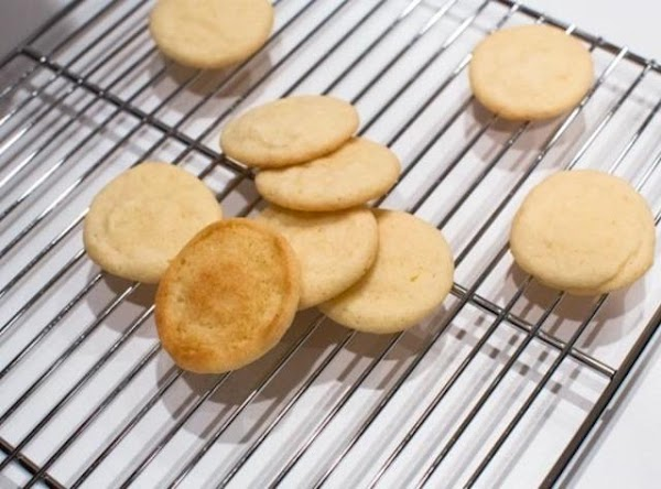 Bake until Tea Cakes rise and then fall.  In my oven this takes...